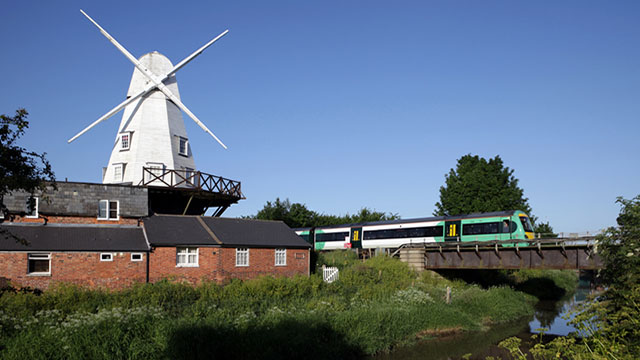treno a idrogeno in Olanda