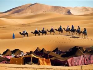 Nel Sahara con le carovane berbere