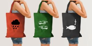 Sacchetti di tela invece della plastica per ridurre inquinamento ambientale