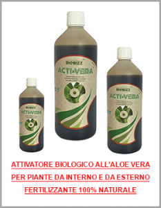 attivatore biologico naturale all'aloe vera