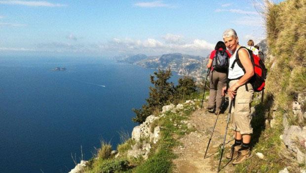 social trekking costiera malfitana turismo sostenibile