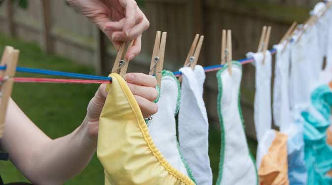 Come lavare pannolini lavabili ecologici