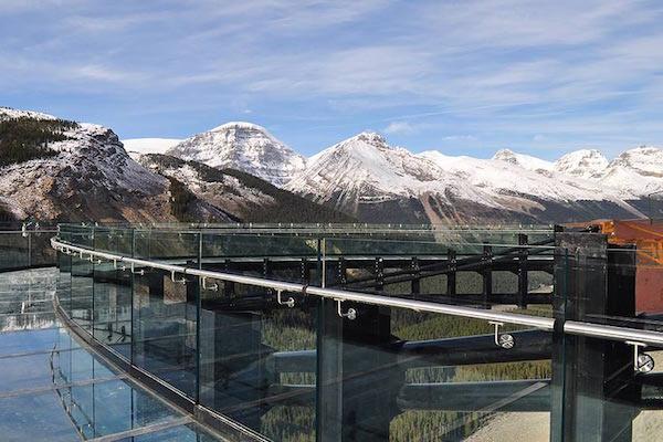 Passeggiata sul ghiacciaio - Skywalk Canada