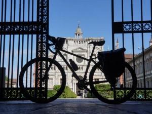 La via Francigena in bicicletta in Italia
