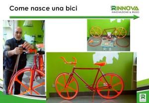 Laboratorio come nasce una bicicletta