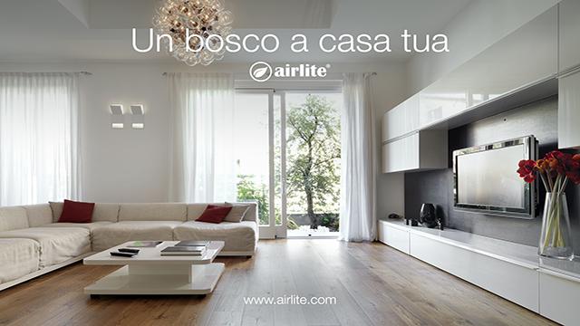 Airlite, la magica tecnologia che purifica l\'aria