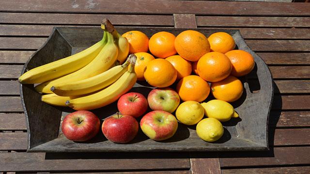 Frutta di stagione di Marzo