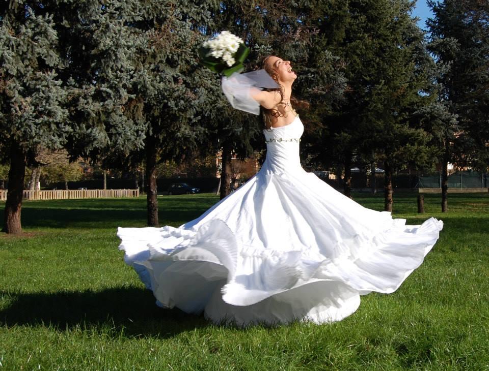 Nozze green: gli abiti di Follemente Sposa