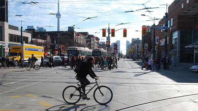 come scegliere il percorso migliore in bici in città