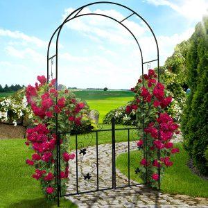 arco per rose rampicanti