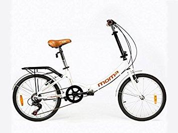 moma bici pieghevole shimano