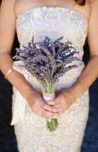 la lavanda fiori di matrimonio estivi