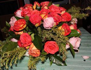 rose fiori di matrimonio primaverili