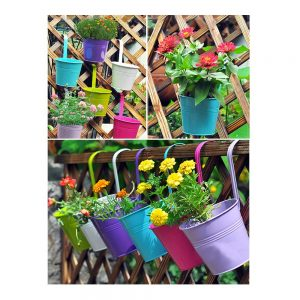 vasi per fiori da balcone primaverili