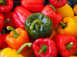 verdura di stagione di maggio