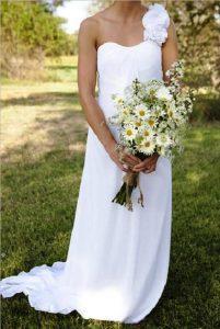 bouquet da sposa margherite fiori di stagione