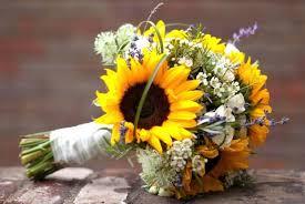 bouquet matrimonio girasoli estate