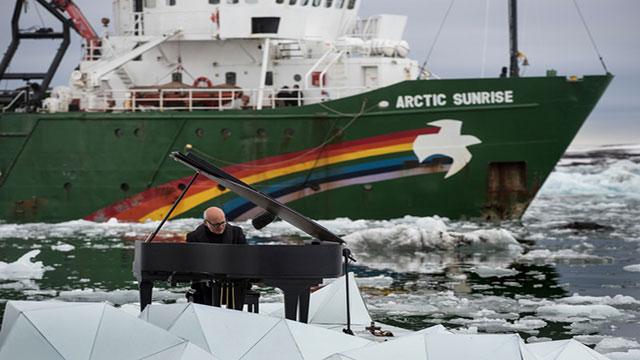 concerto ludovico einaudi al polo nord per fermare il riscaldamento globale
