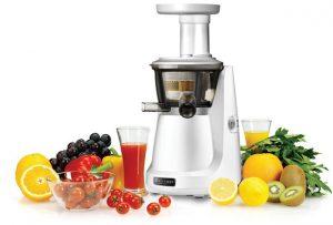 estrattore di succo a freddo per frutta e verdura