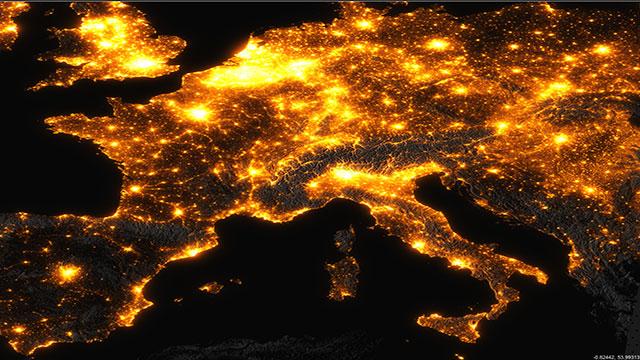 inquinamento luminoso 8 italiani su 10 non vedono le stelle e la via lattea