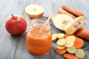 ricette centrifugati mela carota zenzero