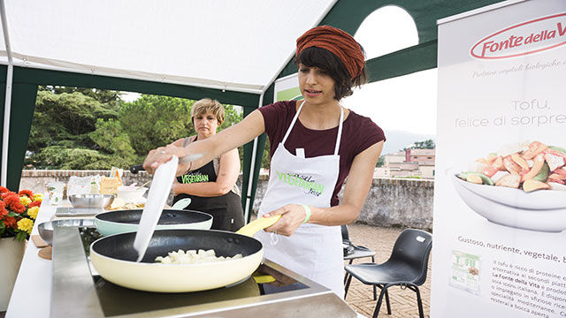 castel vegetarian festival