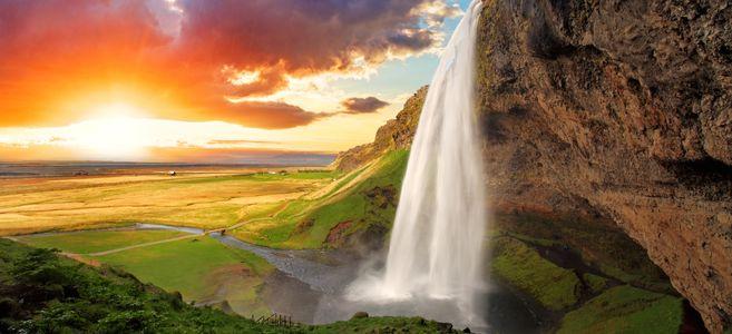Le 10 cascate più spettacolari dell'islanda