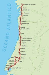 cammino di santiago portoghese