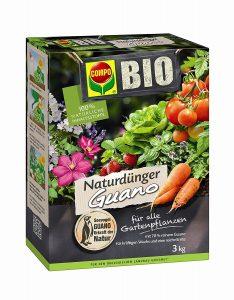 fertilizzante naturale bio per orto e giardino