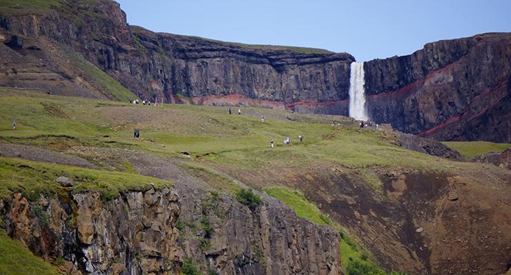 hengifoss 10 cascate più spettacolari dell'isola