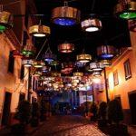 Riciclo creativo: da vecchi cestelli delle lavatrici a originali lampioni