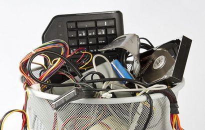 come smaltire vecchi cellulari, tv e tablet