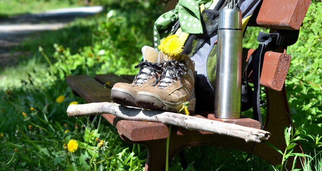 scarpe da trekking camminare