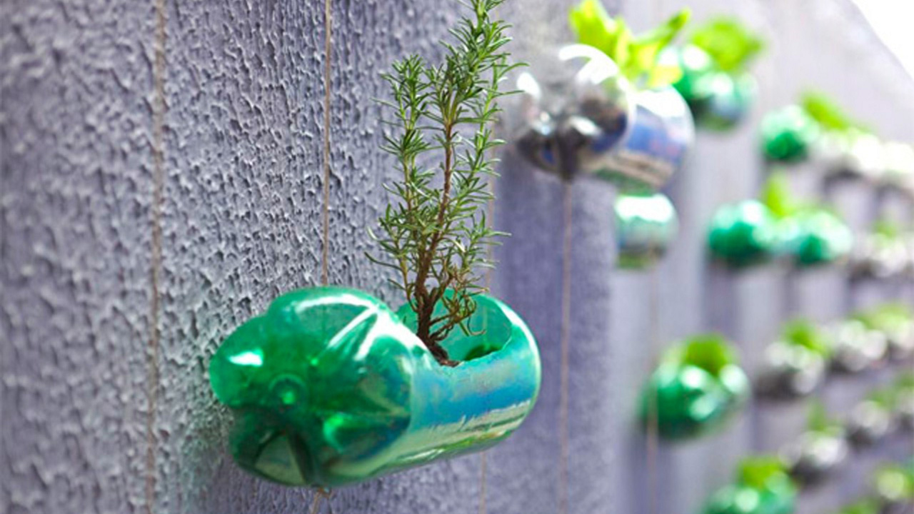 idee di riciclo creativo delle bottiglie di plastica