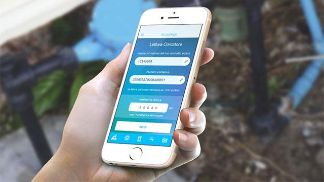 Acquologo app gratuita per il consumo idrico