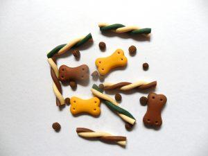 Biscotti per cani con emmental e zenzero