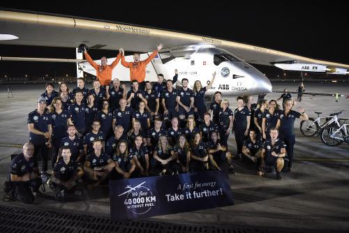 Team Solar Impule 2 completa giro del mondo
