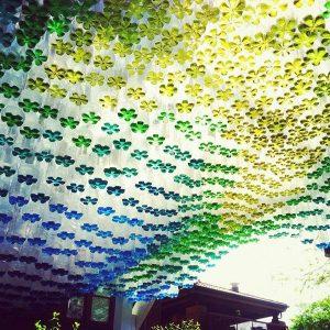 tettoia di Britzman riciclo bottiglie di plastica