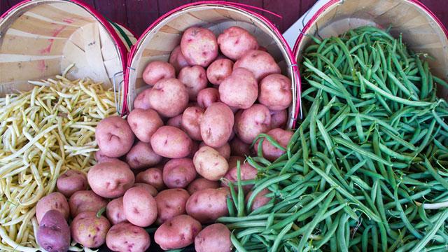 la verdura di stagione di settembre