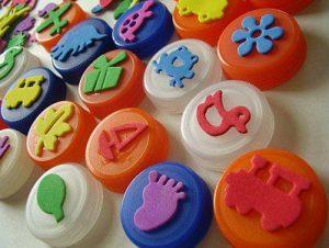 timbri riciclare plastica