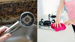 anticalcare fai da te per pulire doccia e fornelli