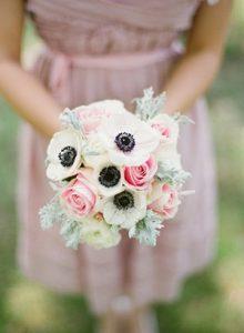 anemone fiore per bouquet da sposa invernale