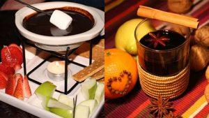 matrimonio invernale menu con cioccolato e vin brule