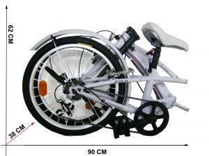 bici pieghevole girardengo 20 pollici