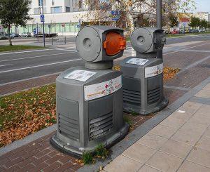 sistema di raccolta pneumatica dei rifiuti nel sottosuolo