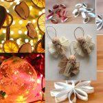 10 decorazioni natalizie per l'albero di Natale fai da te