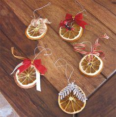 fette arance essiccate decorazioni natalizie