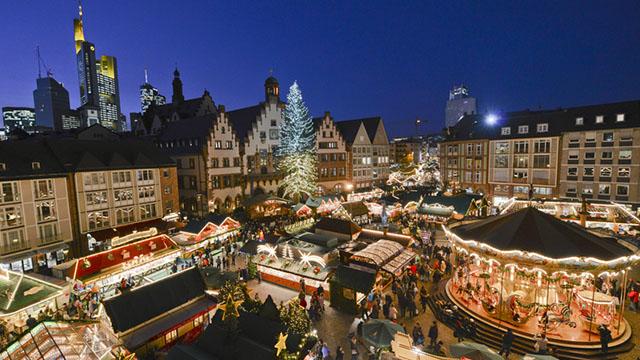 ecco i 10 mercatini di Natale più belli d'Europa