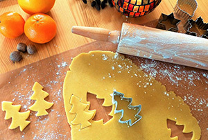 biscotti natalizi panna e miele