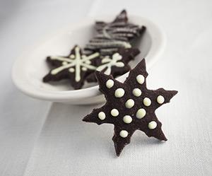 biscotti natalizi stelle cioccolato